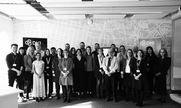 Team Photo DHI Digital Health and Care Scotland